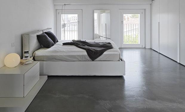 Beton cire badkamer vloer xnovinky betonnen vloer keuken - Badkamer was beton prijs ...
