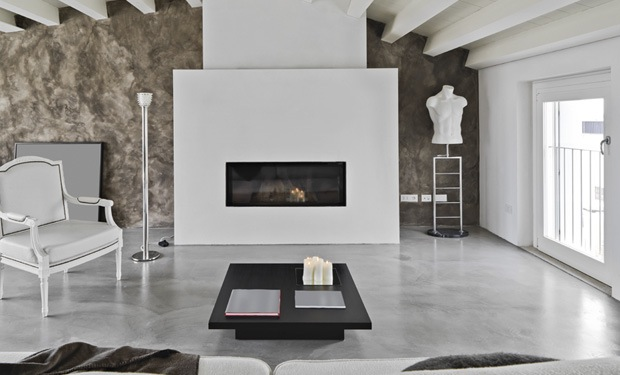 Behang Plafond Badkamer ~ Beton cire vloer met betonlook Prijs & Realisaties