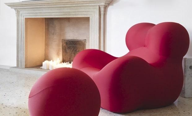 Gietvloer met design meubel