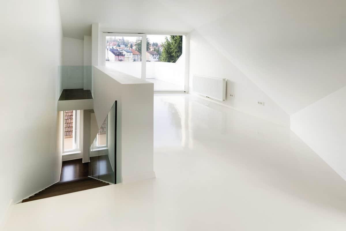 Keuken Gietvloer Witte : Design woonbeton betondesign gietvloer betonlook combi strak